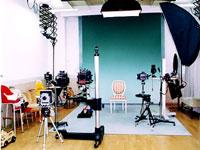 塩谷写真館のスタジオ