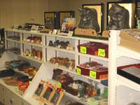 地域特産品販売コーナーの写真
